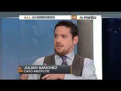 Julian Sanchez discusses Edward Snowden and NSA surveillance on MSNBC