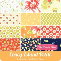 Coney Island Petite Fat Quarter Bundle <br/>Fig Tree Quilts for Moda Fabrics