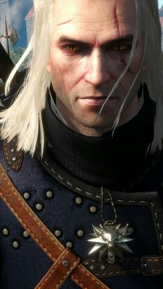 Geralt. Fresh, young spirit without beard.