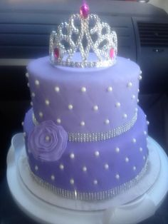Princess cake for a Sofia the First party