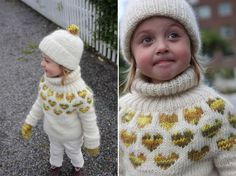 I <3 U Sweater with accessories all free