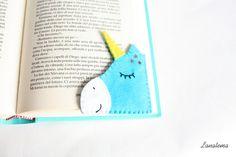 Rincón favorito fieltro mágico unicornio Unicornio Azul con