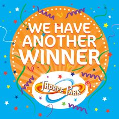 Congratulations to our second winner of the day – Kirstie Brassell! We'll be sending out your THORPE PARK tickets very soon.