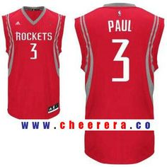 Men s Houston Rockets  3 Chris Paul Red Stitched NBA Adidas Revolution 30  Swingman Jersey 1e5e1b777