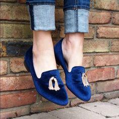 Velvet Tassel Flats Super cute velvet tassel flats Price Firm Forever 21 Shoes Flats & Loafers