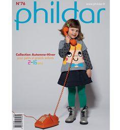 Catalogue Pitchoun n°76 - Catalogues tricot enfant - Phildar