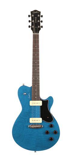 Godin Guitars Core Series P90 GT Denim Flame