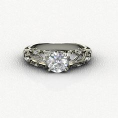 Vintage Diamond Engagement Ring ***(FOR DISCOUNT USE COUPON CODE: PramodWBMKD)***