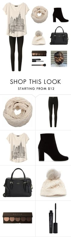 """""""Untitled #62"""" by remyhilpp ❤ liked on Polyvore featuring J Brand, Banana Republic, Yves Saint Laurent, Kate Spade, SIJJL, Smashbox and MAC Cosmetics"""