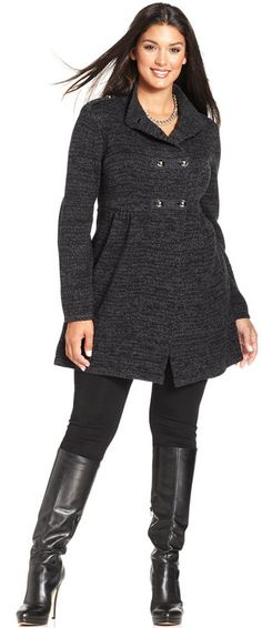 Style&co. Plus Size Military Cardigan
