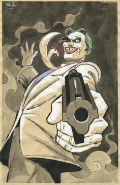 The Dark Knight Returns Joker by mikekimart on DeviantArt Dark Knight Returns Joker, Batman The Dark Knight, Joker Dc, Joker And Harley Quinn, Justice League, Marvel Dc Movies, Comic Villains, Batman Universe, Dc Universe