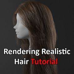 Realistic Hair Tutorial using XGen & Redshift, Obaida Hamdi on ArtStation at https://www.artstation.com/artwork/QBvGr