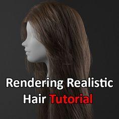 Realistic Hair Tutorial using XGen & Redshift, Obaida Hamdi on ArtStation at https://www.artstation.com/artwork/QBvGr
