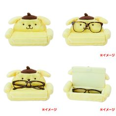 Pom Pom Purin Glasses Case and Stand from Sanrio Japan