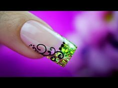 Unhas Decoradas com Pedras e Jóias | Cola na Villar - YouTube