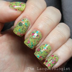 The Lacquerologist: All That Glitters Kokomo: Swatches and Review! SO GOOD!