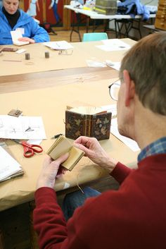 Wooden Books with Dan Essig, instructor at the John C. Campbell Folk School - folkschool.org