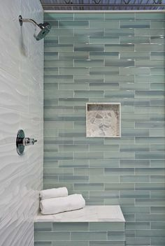 Bathroom shower wall tile - New Haven Glass Subway Tile https://www.tileshop.com/product/615522-P.do