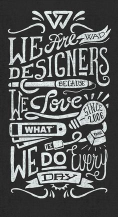 We Are Designers... by Javi Bueno (creativity studio™)