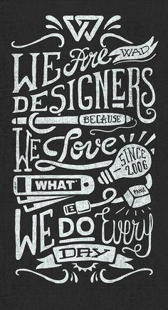 We Are Designers... by Javi Bueno (creativity studio™)