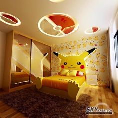This is also one of my favorite bedroom!