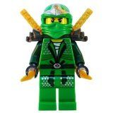 Lloyd ZX (Green Ninja) with Dual Gold Swords - LEGO Ninjago - #halloween #halloweencostumes #costumes -   **** Ships loose as supplied by LEGO in a small clear plastic ziploc pouch. **** Lloyd ZX (Green Ninja) with Dual Gold Swords - LEGO Ninjago Min