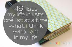 Nearing the end of sharing my 49 Lists journal documenting my last year in my Links to other posts sharing my album and lists are included. Art Journal Prompts, Life Journal, Book Journal, Writing Prompts, Journal List, Writing Ideas, Journal Cards, Art Journals, Bujo
