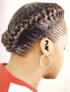 Wondrous African Goddess Braids The Edge Effect Used In This File Was Short Hairstyles For Black Women Fulllsitofus