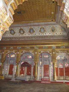 India. Jodhpur, Rajasthan. The Mehrangarh Fort.