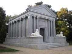 stanford mausoleum | File:Stanford Mausoleum front side.JPG