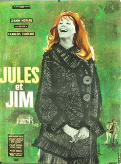 Jules et Jim, 1962 by Francois Truffaut