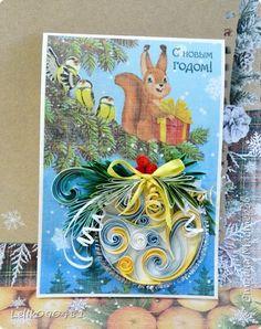 Вот такие открыточки и сувенирчики родились для моего магазинчика и для новогодней выставки. Всем новогоднего настроения и вдохновения! фото 19