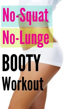 Get the booty workout you love and want using some different moves and you will still feel the BURN the next day!
