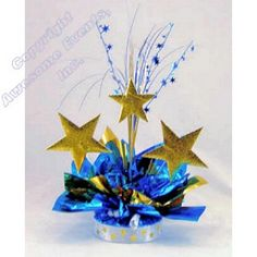 Starry Night Centerpiece Kit. Make in your color choices. All supplies included.