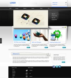 3d design theme designed by Gamma IT Solution and Services