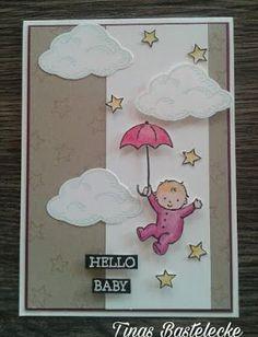 """Babykarte mit """"Moon Baby"""" #2"""