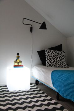 Nice and simple bed Teenage Room, Blog Pictures, Simple Bed, Light Fittings, Kid Spaces, Beautiful Children, Baby Kids, Ikea, Kids Rooms