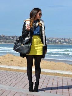 outfits con bluson - Buscar con Google