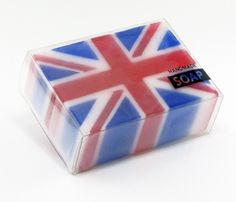 British Flag Soap