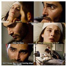 Derek & Cora!! OKAY. DEREK ACTING ALL BIG BROTHER-Y. GAH<3