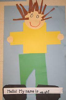 Lee's Kindergarten + self picture art! All About Me Crafts, All About Me Art, All About Me Preschool, All About Me Activities, Kindergarten Art Activities, Kindergarten Rocks, Preschool Lessons, Kindergarten Reading, Preschool Ideas