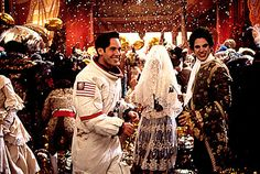 The Capulets know how to throw a party: The Capulet Ball in Baz Lurhman's Romeo + Juliet