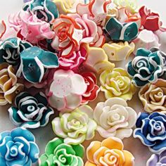 Free-Shipping-13-20mm-Mixed-colors-Fimo-font-b-Polymer-b-font-Rose-font-b-Clay.jpg (725×725)