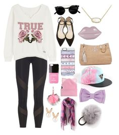 """True"" by harperruby on Polyvore featuring adidas, True Religion, Kendra Scott, Jimmy Choo, Lulu Guinness, Tory Burch, Casetify, Iphoria, Silver Spoon Attire and Charlotte Simone"