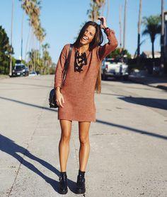 Nina Urgell con vestido de @ASOS @Ninauc