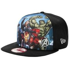 2254351f286 New Era Avengers Snapback 9fifty Cap - Men s - Sport Inspired - Clothing -  Black Marvel