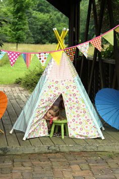 Little Birds Boutique- teepees, banners, and more