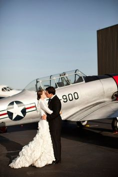 California Hangar Wedding // photo by Yuliya M. Photography