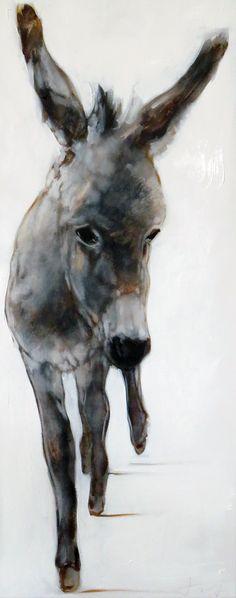 Donkey 2017 100*40 cm