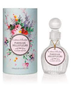 New fragrances by Crabtree and Evelyn. Pretty Packaging, Packaging Design, Flower Packaging, Cosmetics & Perfume, Beauty Awards, Water Flowers, New Fragrances, Vintage Perfume, Bath And Body